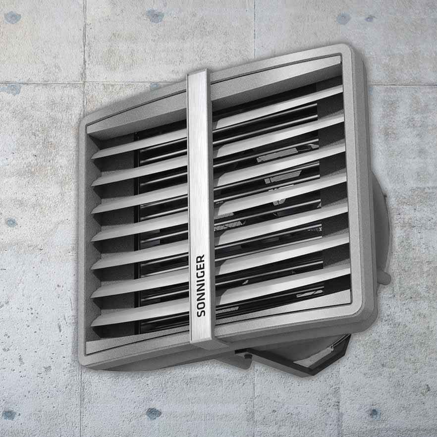 Toplovodni grelniki zraka in zračne zavese