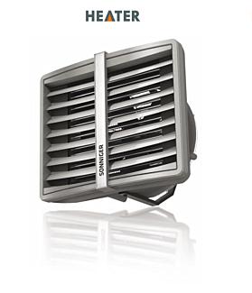 SONNIGER Toplovodni grelniki zraka in zračne zavese